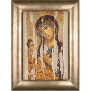 """Набор для вышивания крестом Thea Gouverneur """"Икона Божия Матерь (Богородица Одигитрия)"""""""