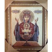 """Гобелен МАГ """"Икона Пресвятой Богородицы Неупиваемая чаша (Мария)"""""""