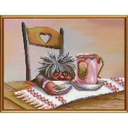 """Набор для вышивания крестом Nova sloboda """"Вкусный десерт"""""""