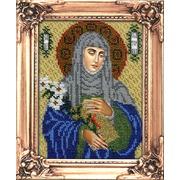 """Набор для вышивания бисером Вышиваем бисером """"Святая великомученица Екатерина"""""""