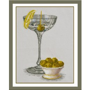 """Набор для вышивания крестом Овен """"Натюрморт с оливками"""""""