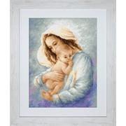 """Набор для вышивания крестом Luca-S """"Мать и дитя"""""""