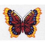 "Канва/ткань с нанесенным рисунком Матрёнин посад ""Бабочка 3"""