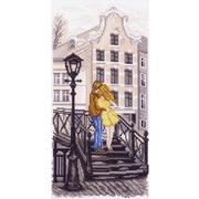 """Канва с нанесенным рисунком Матрёнин посад """"Амстердам (мостик)"""""""
