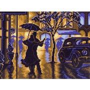 """Канва с нанесенным рисунком Матрёнин посад """"Танец под дождем"""""""