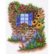 """Канва с нанесенным рисунком Матрёнин посад """"Окно в сад"""""""