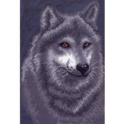 """Канва с нанесенным рисунком Матрёнин посад """"Серый волк"""""""