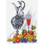 """Канва с нанесенным рисунком Матрёнин посад """"Молодое вино"""""""