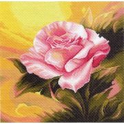 """Канва/ткань с нанесенным рисунком Матрёнин посад """"Розовая прелюдия"""""""