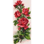 """Набор для вышивания крестом Матрёнин посад """"Алые розы"""""""