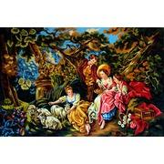 """Канва с нанесенным рисунком Gobelin-L """"Летом в саду"""""""