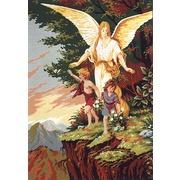 """Канва/ткань с нанесенным рисунком Gobelin-L """"Ангел - Хранитель"""""""