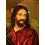 """Канва с нанесенным рисунком Gobelin-L """"Иисус"""""""