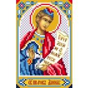 """Ткань с рисунком для вышивки бисером Матрёнин посад """"Святой Даниил пророк"""""""