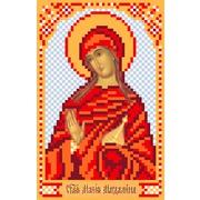 """Ткань с рисунком для вышивки бисером Матрёнин посад """"Святая Мария"""""""
