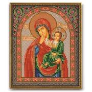 """Набор для вышивания бисером Радуга бисера (Кроше) """"Богородица Отрада и Утешение"""""""