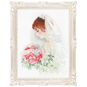 """Набор для вышивания крестом Риолис """"Невеста"""""""