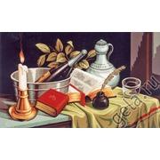 """Канва с нанесенным рисунком Gobelin-L """"Натюрморт со свечей"""""""