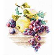 """Набор для вышивания крестом Чудесная игла """"Виноград и яблоки"""""""