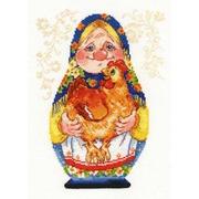 """Набор для вышивания крестом Алиса """"Бабуля"""""""
