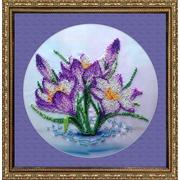 """Набор для вышивания бисером FeDi """"Весенние цветы"""""""