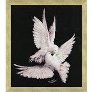 """Набор для вышивания крестом Золотое Руно """"Моя голубка"""""""