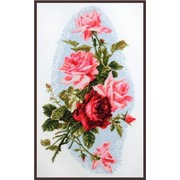 """Набор для вышивания крестом Палитра """"Розовый шик"""""""