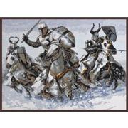 """Набор для вышивания крестом Палитра """"Рыцари"""""""