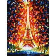 """Набор для раскрашивания Белоснежка """"Париж - огни Эйфелевой башни"""""""