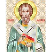 """Ткань с рисунком для вышивки бисером Вертоградъ """"Священомученик Валентин, епископ интерамнский"""""""