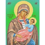 """Ткань с рисунком для вышивки бисером Вертоградъ """"Икона Пресвятой Богородицы Утоли моя печали"""""""