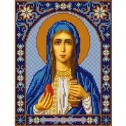 """Ткань с рисунком для вышивки бисером Конёк """"Святая Мария Магдалина"""""""