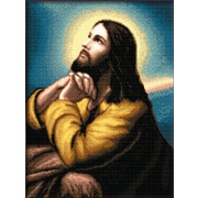 """Набор для вышивания крестом Kustom Krafts Inc. """"Молитва господня"""""""