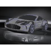 """Ткань с рисунком для вышивки бисером Глурия (Астрея) """"Aston Martin"""""""