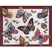 "Канва с нанесенным рисунком Gobelin-L ""Бабочки"""