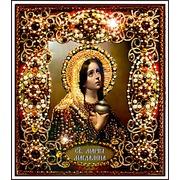 """Набор для вышивания хрустальными бусинами Образа в каменьях """"Святая Мария Магдалина"""""""