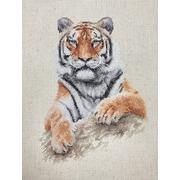 """Набор для вышивания крестом Luca-S """"Тигр"""""""