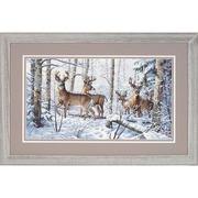 """Набор для вышивания крестом Dimensions """"Зима в лесу"""""""