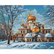 """Набор для вышивания крестом Luca-S """"Церковь (Собор)"""""""