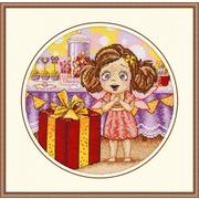 """Набор для вышивания крестом Овен """"День рождение Алисы"""""""