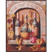"""Набор для вышивания гладью Палитра """"Натюрморт с вином"""""""