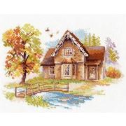 """Набор для вышивания крестом Алиса """"Сентябрьский домик"""""""