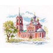 """Набор для вышивания крестом Алиса """"Переславль-Залесский. Сорокосвятская церковь"""""""