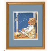 """Набор для вышивания крестом Eva Rosenstand """"Мальчик смотрит на звезды"""""""