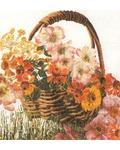 """Набор для вышивания крестом Thea Gouverneur """"Корзина цветов"""""""
