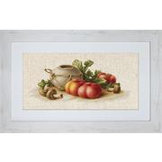 """Набор для вышивания крестом Luca-S """"Натюрморт с овощами"""""""