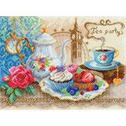 """Набор для вышивания крестом Матрёнин посад """"Время пить чай"""""""