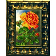 """Набор для вышивания бисером Вышиваем бисером """"Цветущая роза"""""""