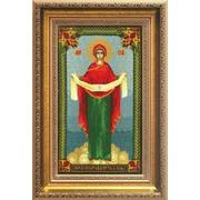 """Набор для вышивания крестом Чаривна Мить """"Икона Образ Пресвятой Богородицы Покрова"""""""