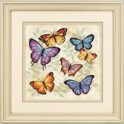 """Набор для вышивания крестом Dimensions """"Обилие бабочек"""""""